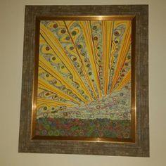 Sunrise  Exhibited in Villa Adler  Brasov Romania