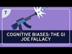 Introduction to Critical Thinking - YouTube Logical Fallacies, Cognitive Bias, Willpower, Gi Joe, Critical Thinking, Psychology, Therapy, University, Science