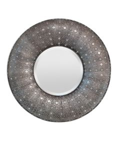 Look at this Silver Round Mirror on #zulily today!