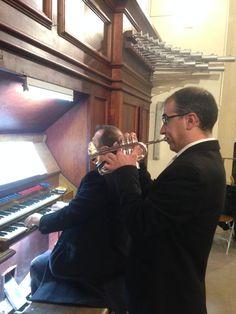 Catedral Albacete 19 Marzo 2016, Órgano y trompeta
