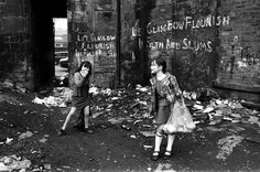 My neighbourhood, as it looked in 1971. The Gorbals, photographed by Harry Benson for Time Magazine (but never used).