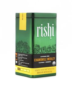 Rishi Tea Organic Chamomile Medley Loose Leaf Herbal Tea, 1.06 Ounces Tin >>> For more information, visit image link. (This is an affiliate link and I receive a commission for the sales)