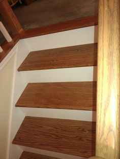 7 Best Staircase With Painted Raisers Images On Pinterest Hardwood