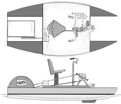 Pedal boat plans for stitch and glue plywood construction Wooden Boat Building, Wooden Boat Plans, Boat Building Plans, Wooden Boats, Make A Boat, Build Your Own Boat, Flat Bottom Jon Boat, Duck Boat Blind, Pedal Boat
