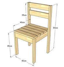 medidas de una silla - Buscar con Google