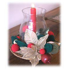 Receitas da Zilah: ENFEITES DE NATAL crochet