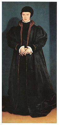 Hans Holbein Wall Art - Painting - Christina of Denmark Duchess of Milan by Hans Holbein the Younger Anne De Cleves, Anne Boleyn, Hans Holbein Le Jeune, The Tudors, Hans Thoma, Hans Memling, Carl Spitzweg, Albrecht Dürer, Hans Holbein The Younger