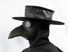 Leather Plague Doctor Mask | Plague Doctor Costume Mask Tom banwell—leather and resin projects ...