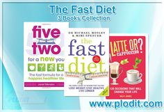 The Fast Diet 3 Books Collection Set at Wholesale Price. #Fastdiet #weightloss #healthydiet #healthyrecipes #recipesandfood #books #bookcollection