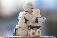 Stawwww Wars: Father & Son Stormtrooper Pics Show That Evil Has Its Affectionate Moments Too Autism Blogs, Autism Help, Stormtrooper Action Figure, Lego Stormtrooper, Stormtroopers, Toys R Us Kids, Autistic Children, Autistic People, Star Wars Humor
