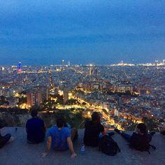 Night lights @ Bunkers El Carmel - Barcelona