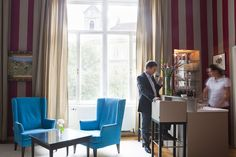 Red Salon, Bar - Hotel Altstadt Vienna Design Hotel, Bar None, Boutique, Curtains, Public, Inspiration, Home Decor, Style, Living Room