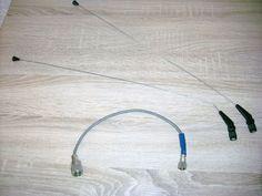 2 Antennen 1 Adapter für viele DDR Funkgeräte zum Aufschrauben