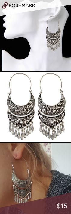 Large bohemian dangle earrings Brand new bohemian style earrings Jewelry Earrings