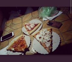 #pizza #summer #night #friends #iphone