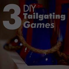 3 DIY Tailgating Games