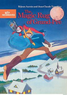 Rose-Marie and Constant go on a night-time quest with Johnny à Minou, the magic mailman, to find the twelve strands of wool to complete the hooked rug of Grand-Pré. Soaring through the stars, they visit the four corners of Acadie. Each stop on their journey brings them closer to their Acadian ancestors. Gr.4-7 Acadie, French Classroom, Rose Marie, Fiction Writing, Rug Hooking, Strands, Night Time, Social Studies, Nonfiction