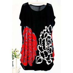 SHARE & Get it FREE | Casual Women's Scoop Neck Short Sleeve Floral Print BlouseFor Fashion Lovers only:80,000+ Items·FREE SHIPPING Join Dresslily: Get YOUR $50 NOW!