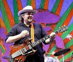 Wilco's #JeffTweedy performs at New Orleans Jazz & Heritage Festival April 24. (John Davisson) #Wilco #Pollstar