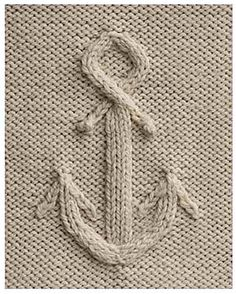 Knitted Anchor