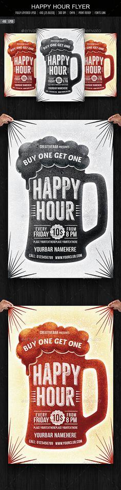 Happy Hour Flyer - Download…