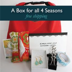Quarterly Subscription | 4 boxes throughout the year