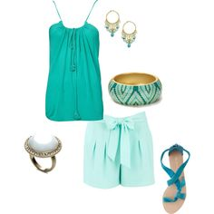 Summer Cool, created by ircourt on Polyvore