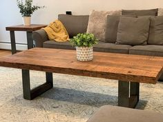 Reclaimed Wood Coffee Table set with Raw Steel Legs – The Carpentry Shop Co., LLC Coffee Table With Shelf, Oak Coffee Table, Reclaimed Wood Coffee Table, Sit Back, Wood Accents, Red Oak, End Tables, Dining Bench, Table Settings