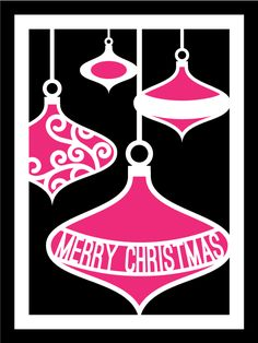 Bauble Card Cover 2 by Bird