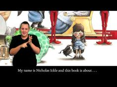 Amazing translation, excellent descriptions of pictures, 'The Wrong Book' Auslan version - YouTube
