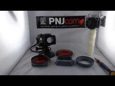 Adaptateur caisson extème pour filtre de plongée Dôme HERO HD