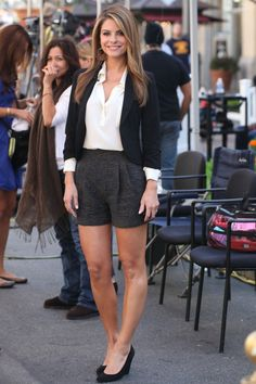 4ed121cceb79 Maria Menounos Summer Work Outfits