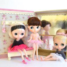 BookShelf Dollhouse  Ballet School #Blythe