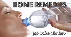 Remedies For Water Retention Water retention may occur due to various factors some of which include excessive intake of salt and various factors. Read about fluid retention remedies. Holistic Remedies, Natural Home Remedies, Health Remedies, Herbal Remedies, Water Retention Causes, Water Retention Remedies, Storing Water, Abdominal Bloating, Body Tissues