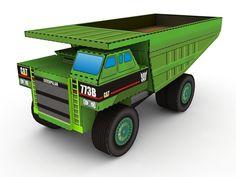Mecha Paper Models  Transformers Longhaul Papercraft