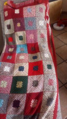 Blanket, Crochet, Bed, Home, Stream Bed, Ganchillo, Blankets, Beds, Cover