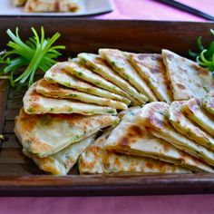 Classic Chinese Scallion Pancakes