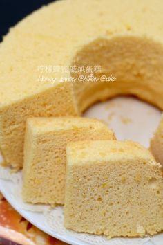 The Furry Bakers Lemon Chiffon Cake, Honey Lemon, Food Pictures, Cornbread, Vanilla Cake, Sweet Tooth, Food Photography, Bakery, Ethnic Recipes