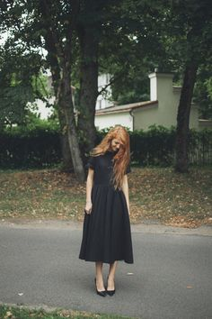 We're loving the simple silhouette of this cool linen dress.