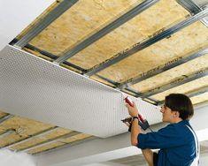 Выбираем звукоизоляцию для потолка