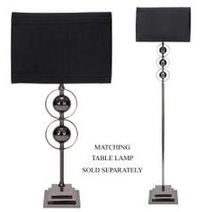 Casa Cortes Loft Obsession Black 1-light Floor Lamp