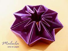 Fleximasu!!! Modelo Paolo Bascetta plegado por Malula _ arte en papel