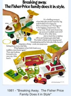 Fisher price vintage little people Fisher Price Toys, Vintage Fisher Price, Vintage Books, Vintage Ads, Childhood Toys, Childhood Memories, Preschool Toys, Oldies But Goodies, Wooden Pegs