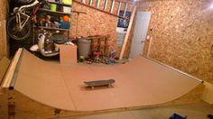SkullandBonesSkateboards.com ~ View topic - another garage mini ramp!