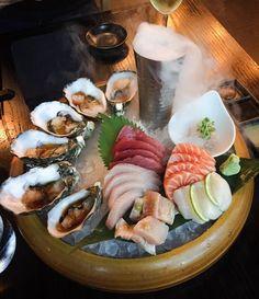 Yes please sashimi plate! #spoilt #sokyo #sashimi by _kristilyy