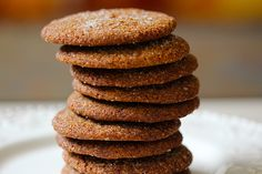 Holiday Ginger Spice Cookies- delicious! #gingerspicecookies #gingercookies