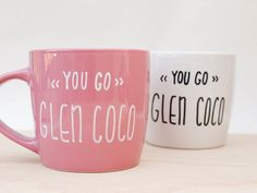 You Go Glen Coco Coffee Mug AvonnieStudio | $22.00 USD