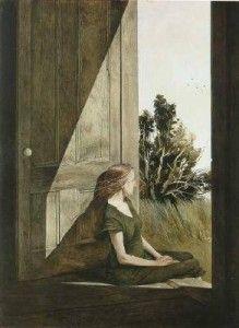 ANDREW WYETH http://www.widewalls.ch/artist/andrew-wyeth/ #realism