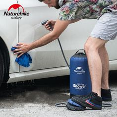 Portable and Inflatable Outdoor Camping Shower Portable Outdoor Shower, Laser Welding, Welding Process, Water Resources, Water Pipes, Car Wash, Water Tank, Outdoor Activities, Adventurer