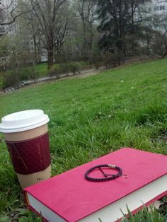 Book + coffee + park=What I need to do this summer!